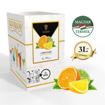Bag in Box limonádé szirup 3 liter