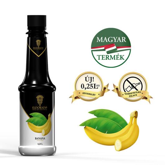 Eldorado Banán szirup 0.25 liter