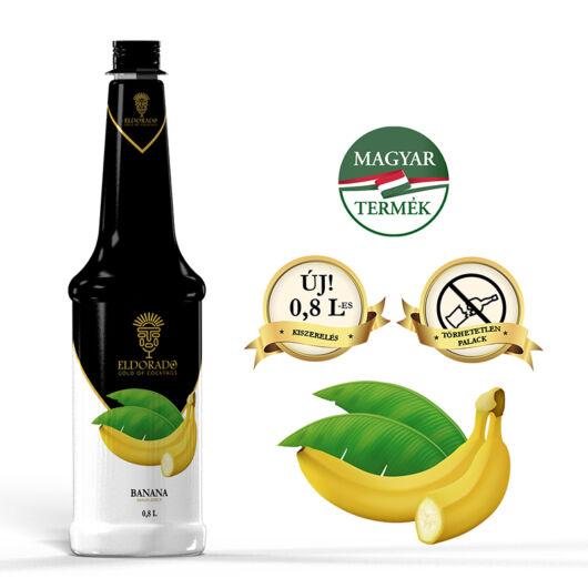 Eldorado Banán szirup 0.8 liter