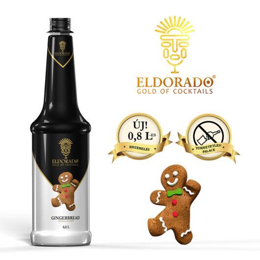 Eldorado Mézeskalács szirup 0.8 liter