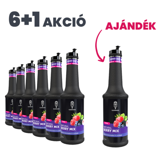 Eldorado Erdei gyümölcs püré 1L - 6+1 Akció