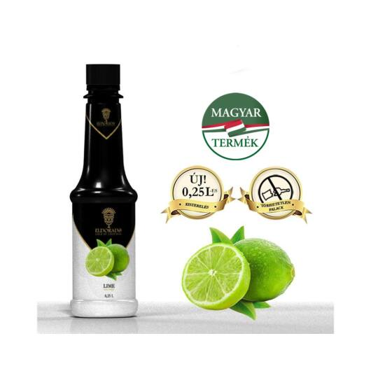 Eldorado Lime szirup 0.25 liter