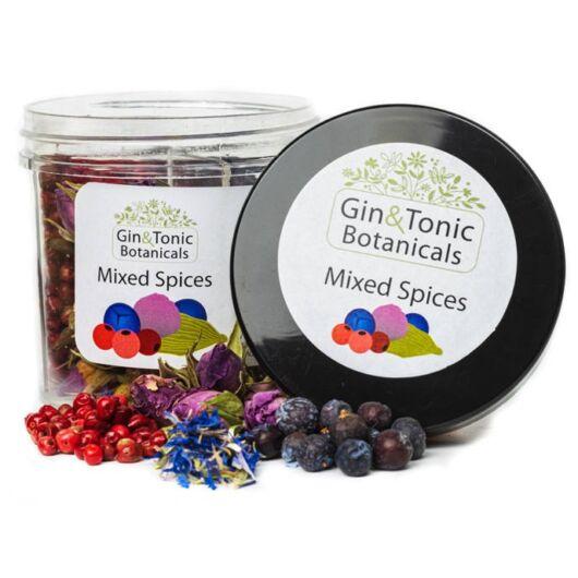 Gin Tonik fűszer osztott tégelyben 4 fajta fűszerrel 25 gr
