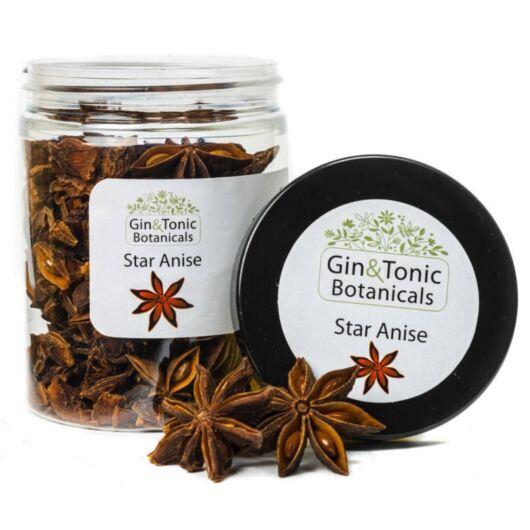 Gin Tonik fűszer közepes tégelyben Csillag Ánizs egész 60 gr