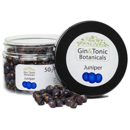 Gin Tonik fűszer kis tégelyben, Borókabogyó egész 50 gr