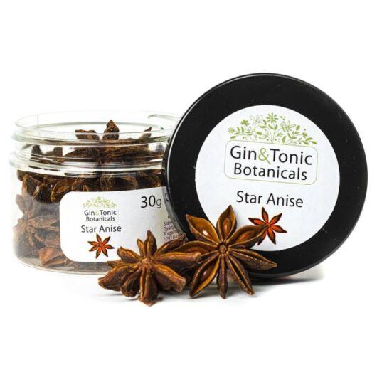 Gin Tonik fűszer kis tégelyben Csillag ánizs egész 30 gr
