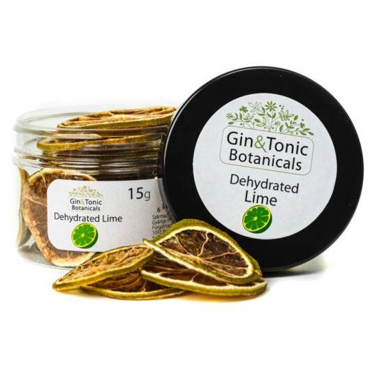 Gin Tonik fűszer kis tégelyben Szárított Lime karikák 15 gr