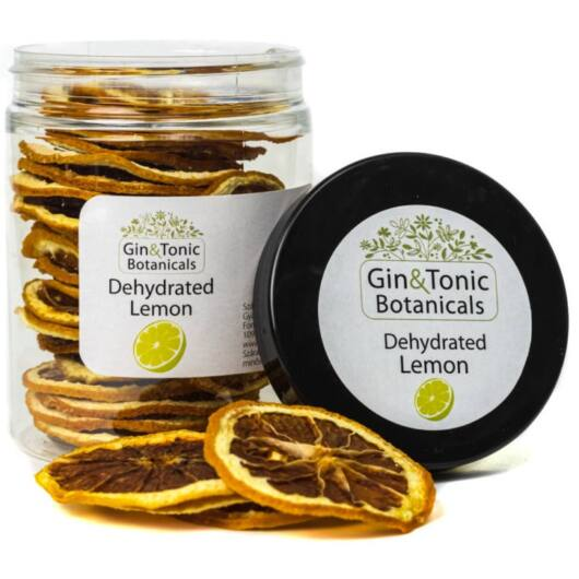 Gin Tonik fűszer közepes tégelyben Szárított Citrom karikák 35 gr