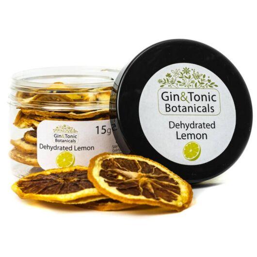 Gin Tonik fűszer kis tégelyben Szárított Citrom karikák 15 gr