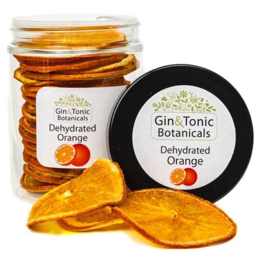 Gin Tonic Botanicals közepes tégelyben Szárított Narancs karikák 40 gr