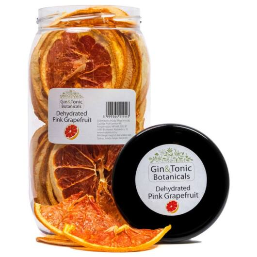 Gin Tonik fűszer nagy Gasztró tégelyben Szárított Grapefruit karikák 100 gr