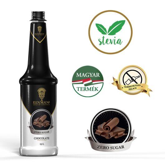 Eldorado Csokoládé zero cukormentes szirup 0.8 liter
