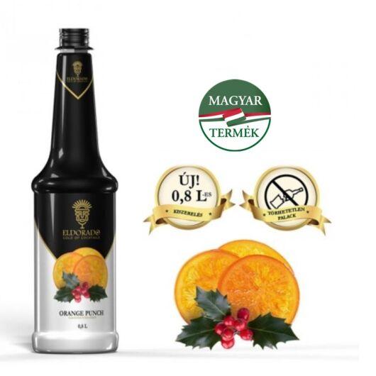 Eldorado Narancs puncs szirup 0.8 liter