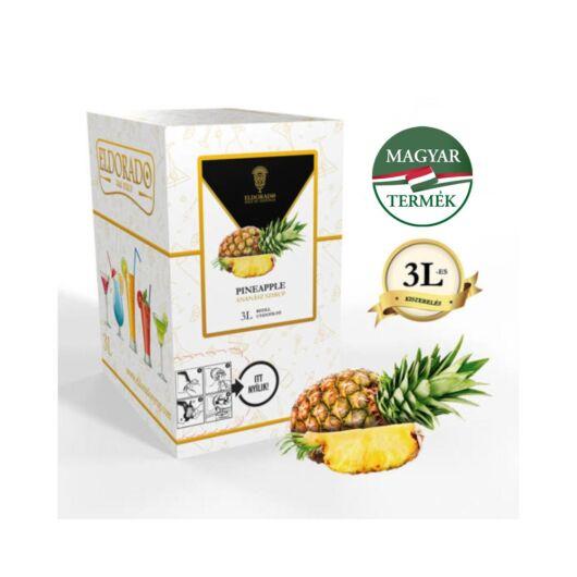 Bag in Box ananász szirup 3 liter