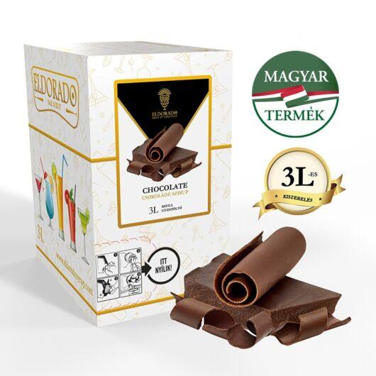 Bag in Box csokoládé szirup 3 liter