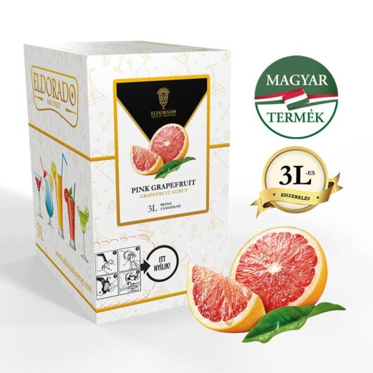 Bag in Box grapefruit szirup 3 liter
