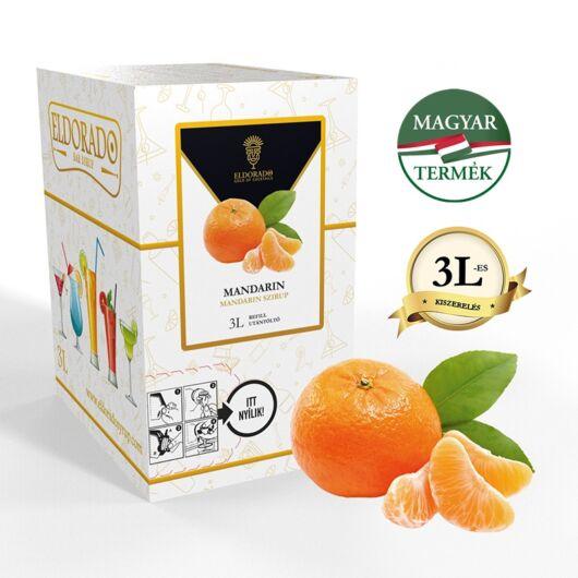 Bag in Box mandarin szirup 3 liter