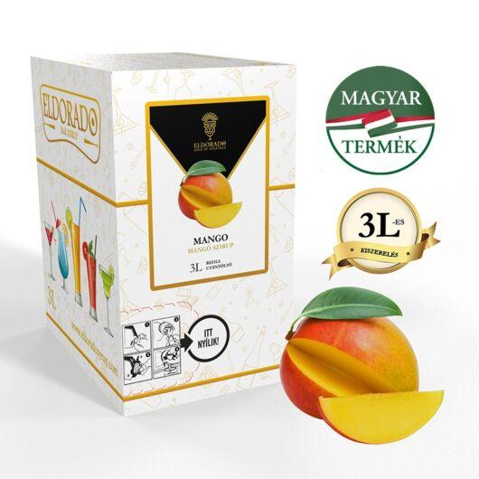 Bag in Box mangó szirup 3 liter