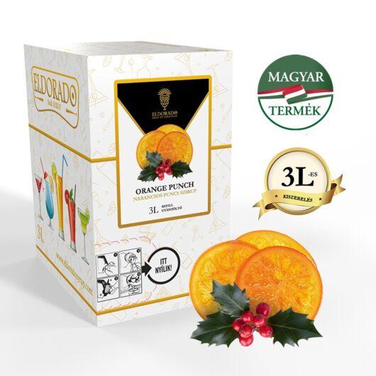 Bag in Box narancs puncs 3 liter