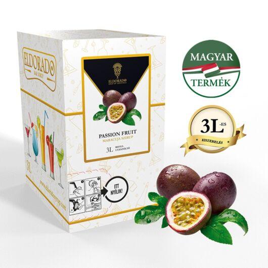 Bag in Box Passion Fruit - Maracuja szirup 3 liter