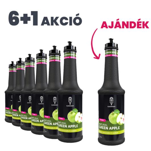 Eldorado Zöldalma püré 1L - 6+1 Akció