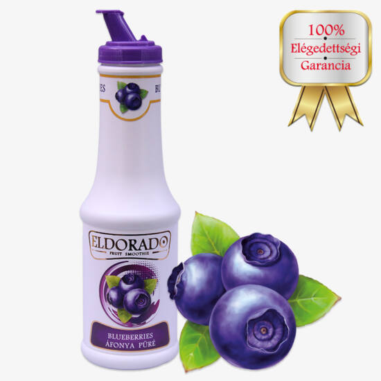 Eldorado Áfonya koktélpüré 0.5 Liter