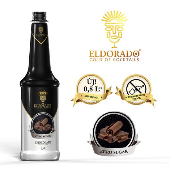 Eldorado Csokoládé zero szirup 0.8 liter
