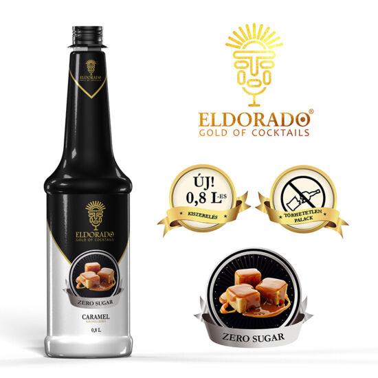 Eldorado Karamell zero szirup 0.8 liter