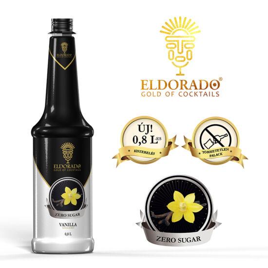 Eldorado Vanilia zero szirup 0.8 liter