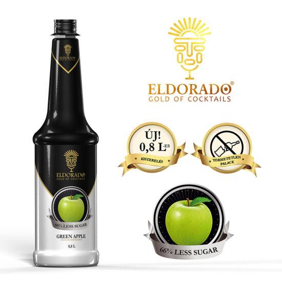 Eldorado Zöldalma light szirup 0.8 liter