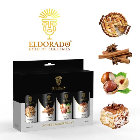 Eldorado Kávé szett II.  4x120 ml (Almáspite, mogyoró, fahéj, tiramisu)