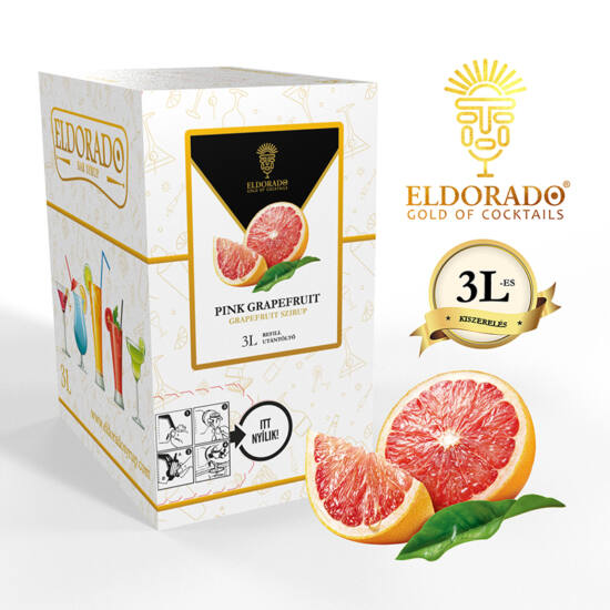 Bag in Box grapefruit szirup 3 liter