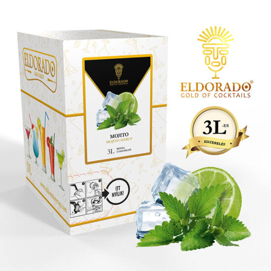 Bag in Box mojito szirup 3 liter
