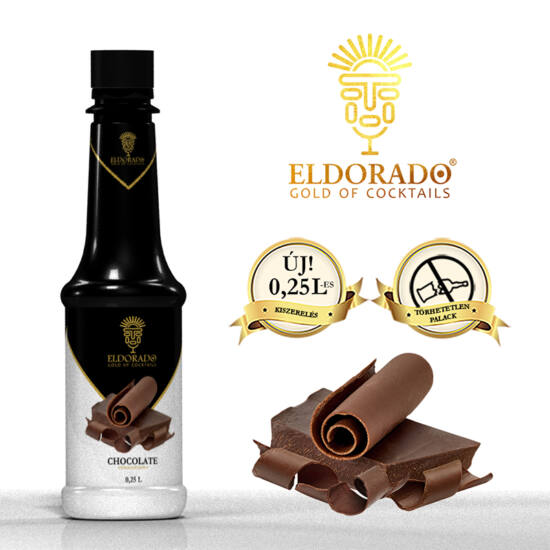 Eldorado Csokoládé szirup 0.25 liter