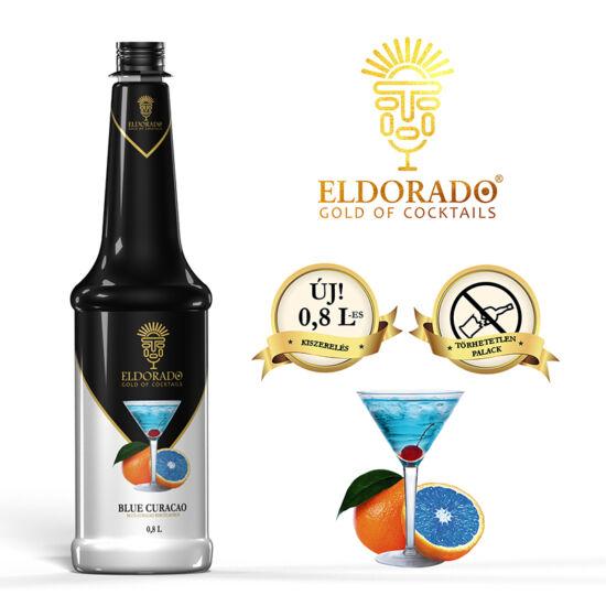 Eldorado Blue curacao szirup 0.8 liter