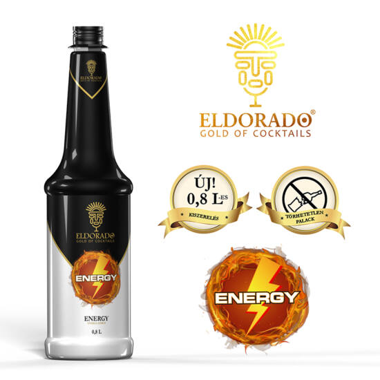 Eldorado Energy szirup 0.8 liter