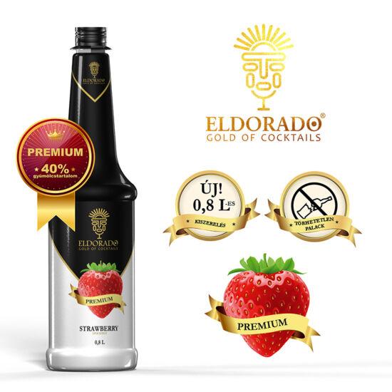 Eldorado Prémium Eper szirup 0.8 liter