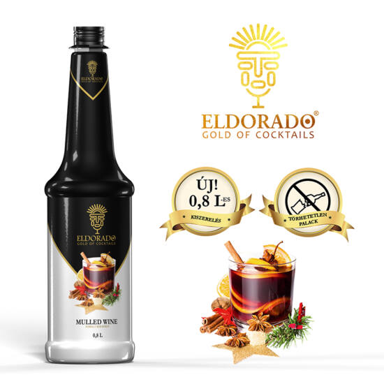 Eldorado Forraltbor szirup 0.8 liter