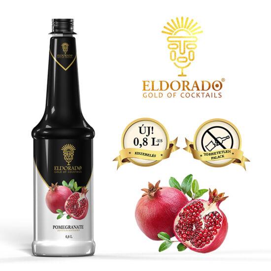 Eldorado Gránátalma szirup 0.8 liter