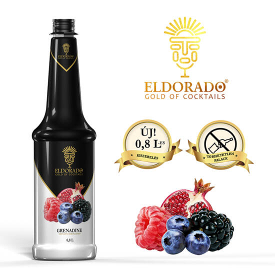 Eldorado Grenadine szirup 0.8 liter