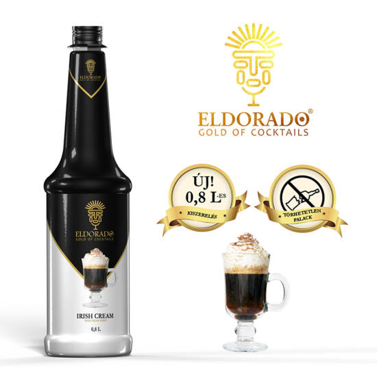 Eldorado Irish Cream szirup 0.8 liter