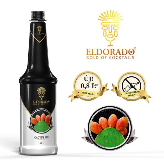 Eldorado Kaktuszfüge szirup 0.8 liter