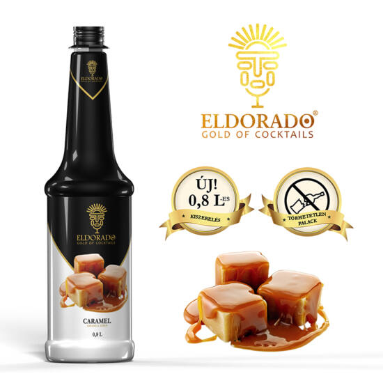 Eldorado Karamell szirup 0.8 liter