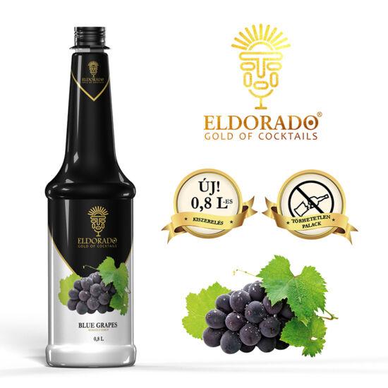 Eldorado Kékszőlő szirup 0.8 liter