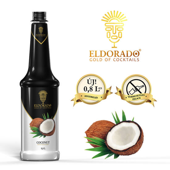 Eldorado Kókusz szirup 0.8 liter
