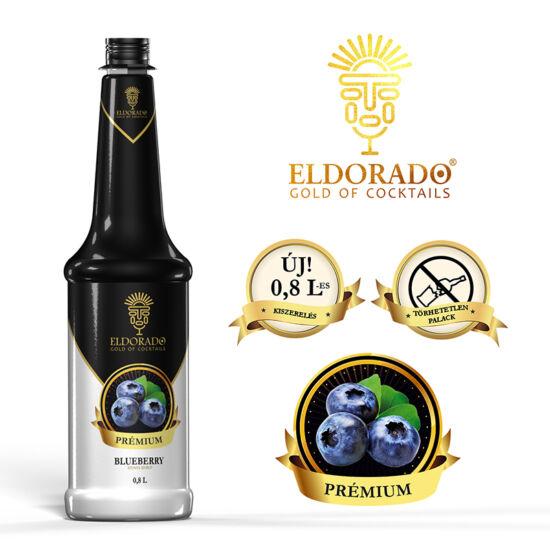 Eldorado Prémium Áfonya pürészirup 0.8 liter