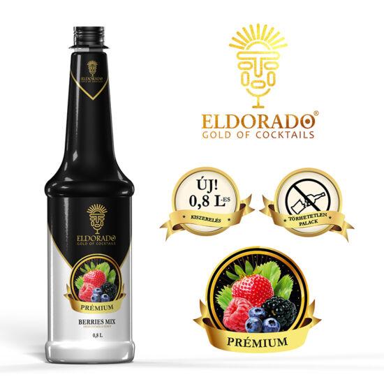 Eldorado Prémium Erdei Gyümölcs pürészirup 0.8 liter