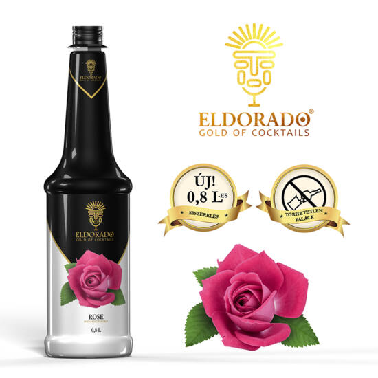 Eldorado Rózsa szirup 0.8 liter