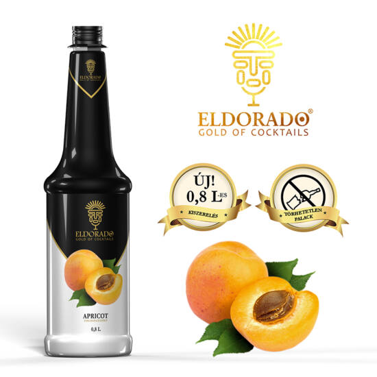 Eldorado Sárgabarack szirup 0.8 liter