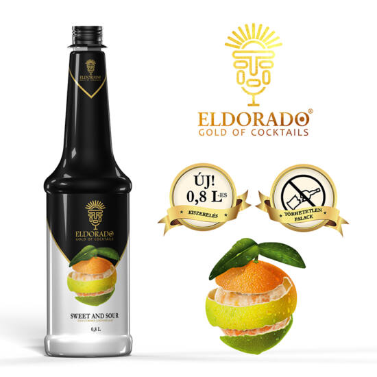 Eldorado Sweet and Sour 0.8 liter